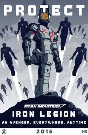 Age of Ultron Iron Legion