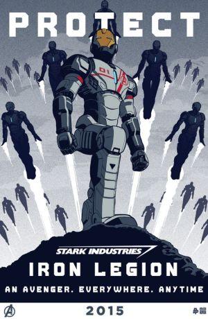 Age of Ultron Iron Legion