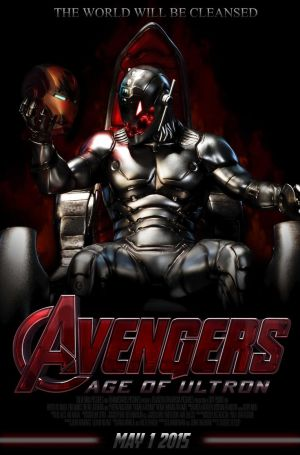 Age of Ultron poster Ultron