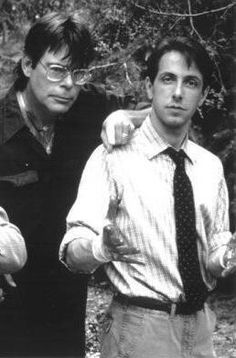 Stephen King e Clive Barker.