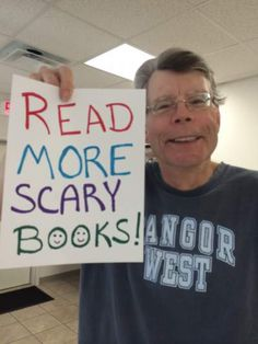 Read more scary books