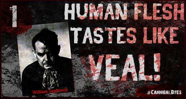 William Seabrook cannibalismo