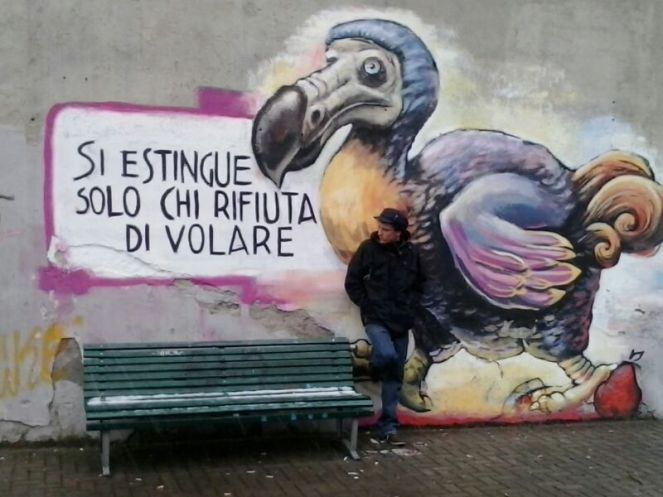 Graffito milanese.