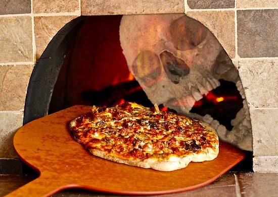 strange pizza