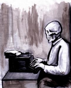 zombie writer