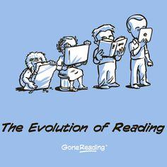 evolution of reading