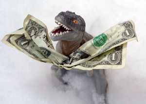 Prehistoric paper money.