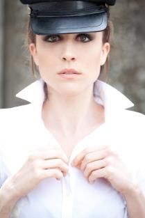 Francesca Valtorta Photographer: Mario Saragò make up: Daniela Orsili