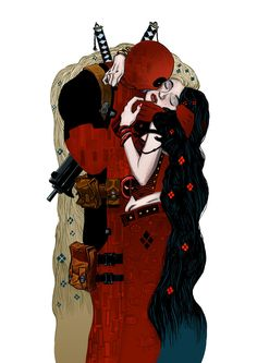 deadpool klimt
