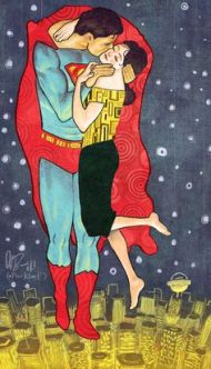superman klimt