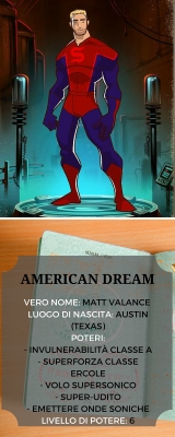 AMERICAN DREAM Scheda