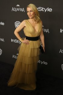 Actress Gillian Anderson attends the 17th Annual Instyle and Warner Bros. Pictures Golden Globes After Party in Beverly Hills