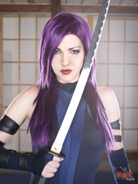 Psylocke cosplay 2