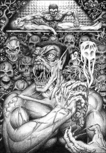Illustrazione ispirata a Necroscope.
