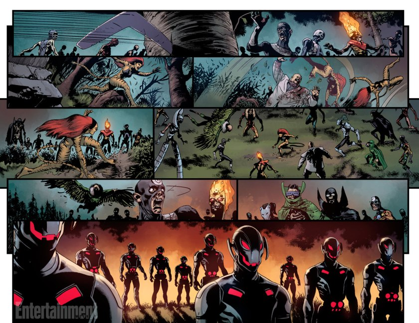 Age of Ultron vs Marvel Zombies.