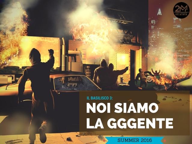 Il Basilisco 3: Noi siamo la Gggente (teaser poster)