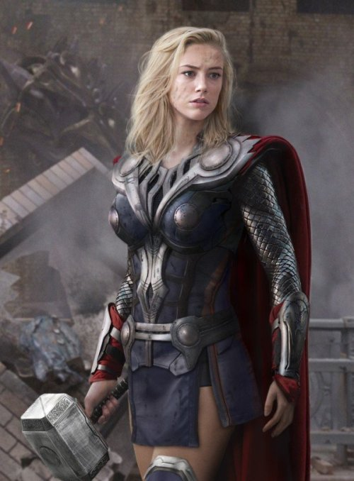 Amber Heard as Thor