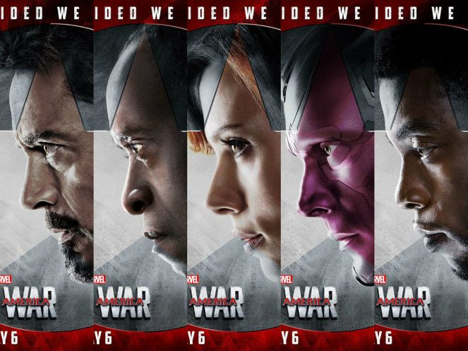 civil war team iron man