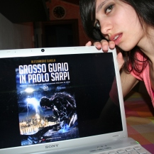 "Elisa Tomasso promuove ""Grosso Guaio in Paolo Sarpi"" (http://www.amazon.it/dp/B01CIEEYFC)"