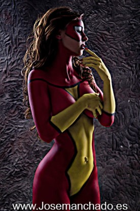 spider woman cosplay 4