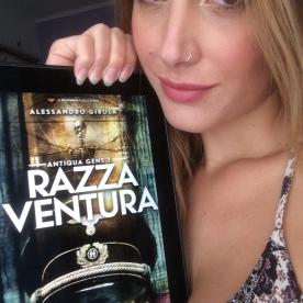"Sadie Gray promuove ""Razza Ventura"" (http://amzn.to/2wG9TZL)"
