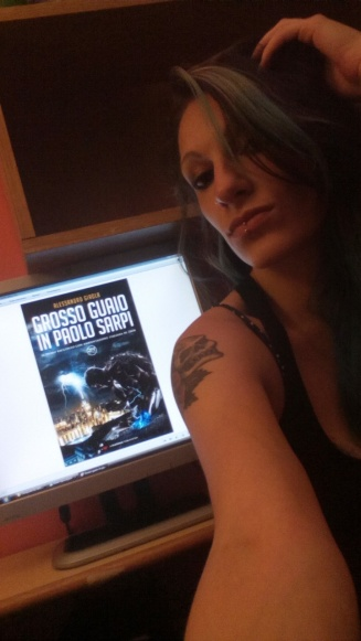 """Shary Nais promuove """"Grosso Guaio in Paolo Sarpi"""" - http://www.amazon.it/dp/B01CIEEYFC"""