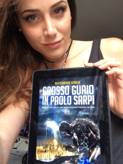 "Sadie Gray promuove ""Grosso guaio in Paolo Sarpi"" (http://www.amazon.it/dp/B01CIEEYFC)"