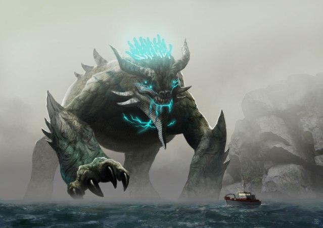 Kaiju (artwork di Sa-Chan)