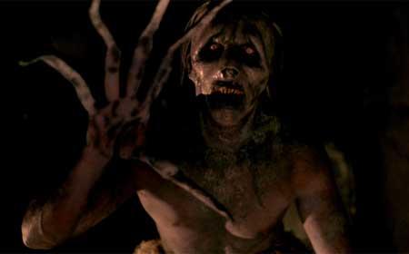 """Una scena dalla trasposizione cinematografica di """"Ghoul""""."""