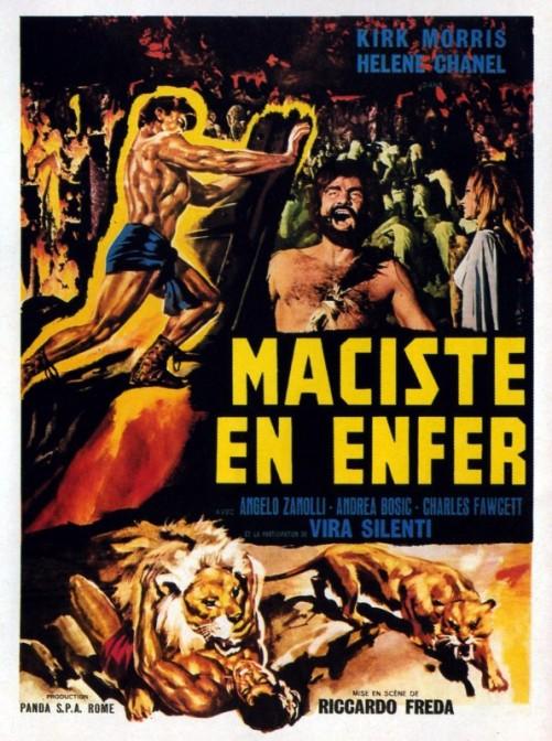 Magari qualche bella campagna GDR ispirata ai vecchi film di Maciste.