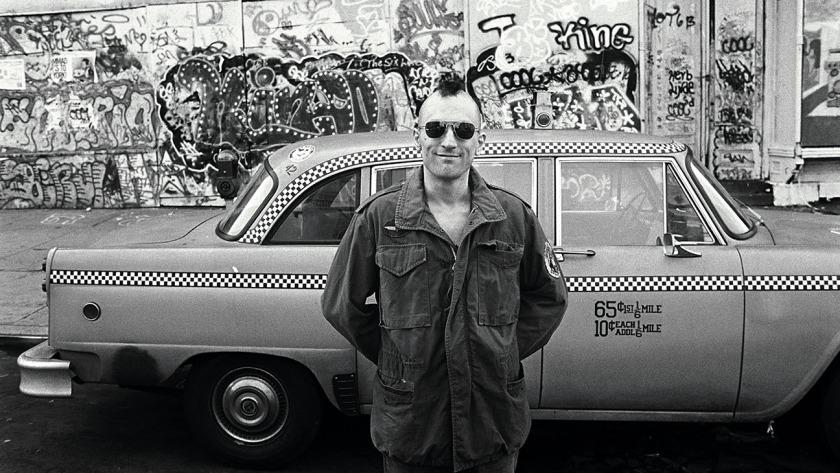 Robert DeNiro in Taxi Driver --- Image by © Steve Schapiro/Corbis