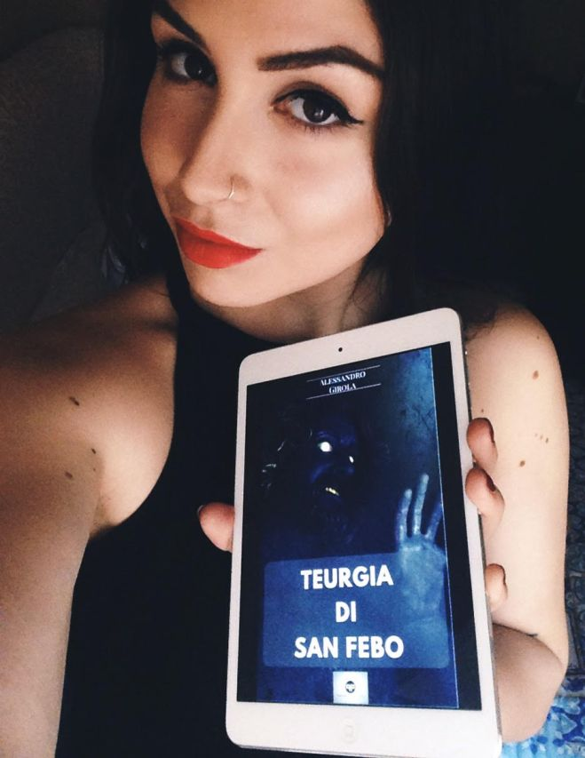 "Ariel Lane promuove ""Teurgia di San Febo"" - http://amzn.to/2oCfvm3"