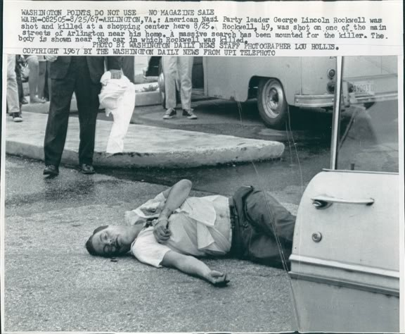 assassination of george lincoln rockwell