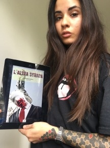 "Smoky promuove ""L'Altra Strada"" - http://amzn.to/2vAPoNc"