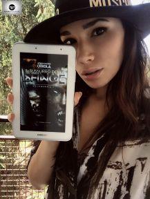 """Jessica Fiammetta promuove """"Il sussurro della Sfinge"""" (http://amzn.to/2j3BGQ6)"""